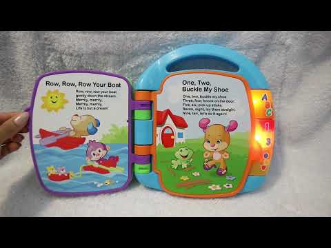 2017 Story Book Rhyme / Fisher Price's toys