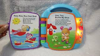 2017 Story Book Rhyme Fisher Price s toys