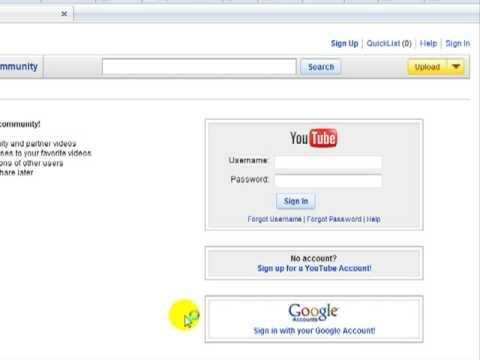 Buoc 1 - Dang ky tai khoan Gmail YouTube va Download Videos
