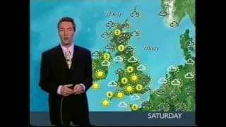 Repeat youtube video BBC Weather 23rd February 2001: Snow on the way
