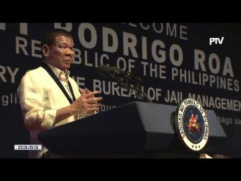 Talumpati ni Pangulong Duterte sa ika-26 Anibersaryo ng BJMP, sa Camp Aguinaldo, Quezon City