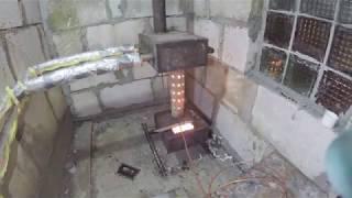 Турбо-надув в печку на отработке, обзор водяного отопления гаража