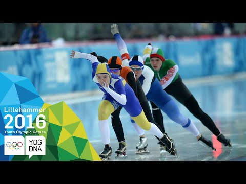 Speed Skating - Mixed NOC Team Sprint | Lillehammer 2016 Youth Olympic Games