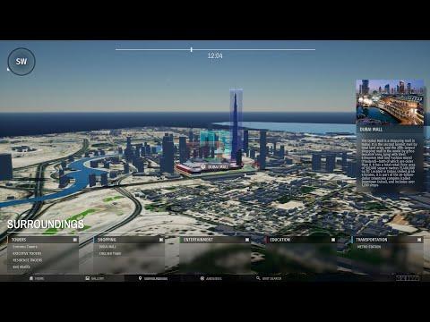 Interactive Dubai Map