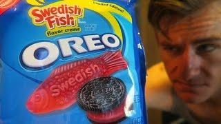 swedish fish oreo review