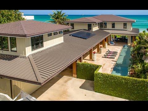 Luxury Beachfront Property For Sale on  Kailua Beach - 16 Namala Pl