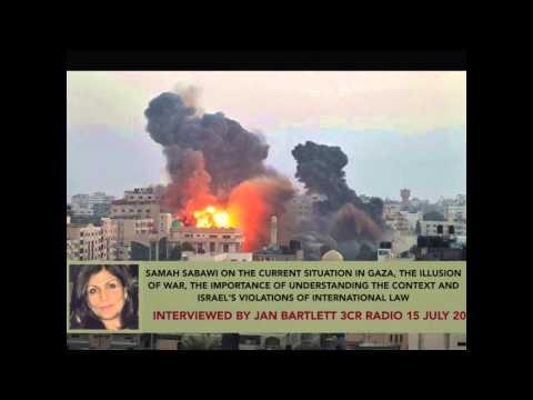 Samah Sabawi: The war on Gaza 2014 in context
