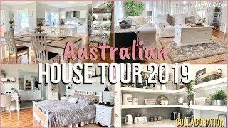 HOUSE TOUR COLLABORATION 2019 | AUSTRALIAN HOME | Farmhouse Style