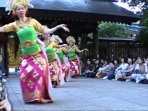 クンバンギラン kembang girang 阿佐ヶ谷バリ舞踊祭