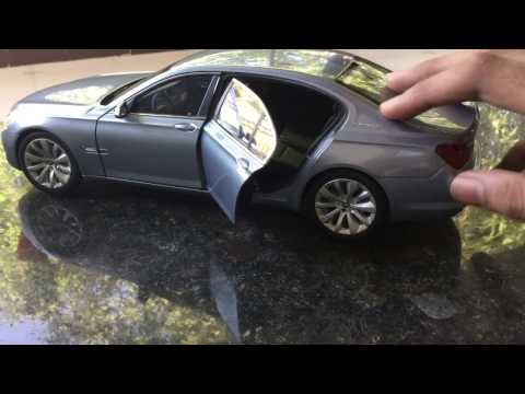 Diecast Unboxing-BMW 7 Series 1/18 BMW AG Licsensed model
