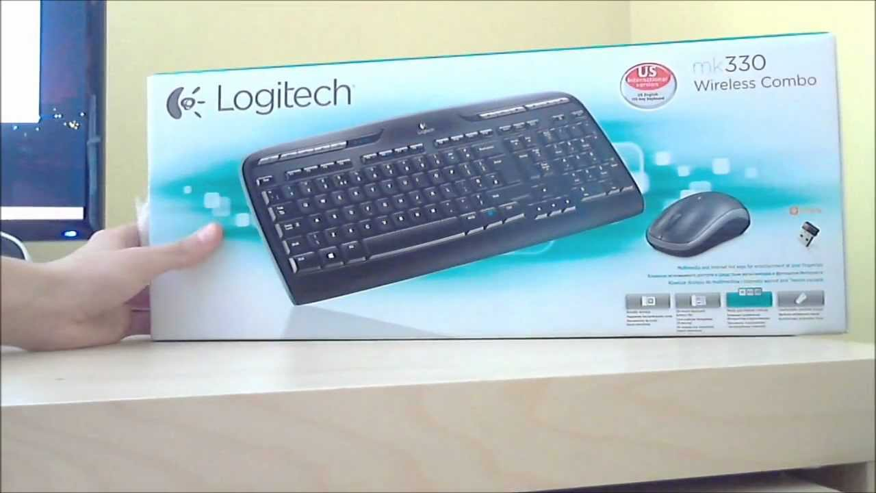 Klawiatura Logitech mk330 Wireless Combo ( Unboxing )