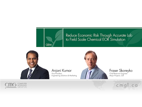 CMG Webinar: Reduce Economic Risk Through Accurate Lab to Fi