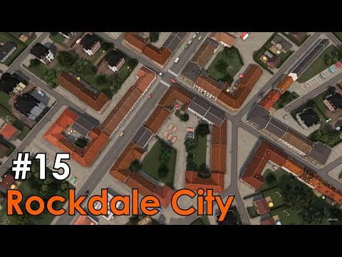 Cities: Skylines - Rockdale City #15 - Realistic Small Old Town