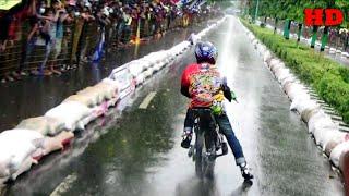 Gambar cover HUJAN BADAI Tak Menyurutkan NYALI Para Rider Drag Bike Untuk Mencapai BEST TIME