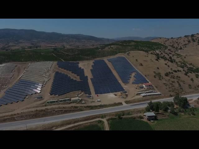 Aydın Çine 4.3 MW - ISOTEC ENERJI Solar Mounting System