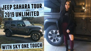 Jeep Wrangler Sahara Unlimited 2019 + Sky One Touch (Car Tour)