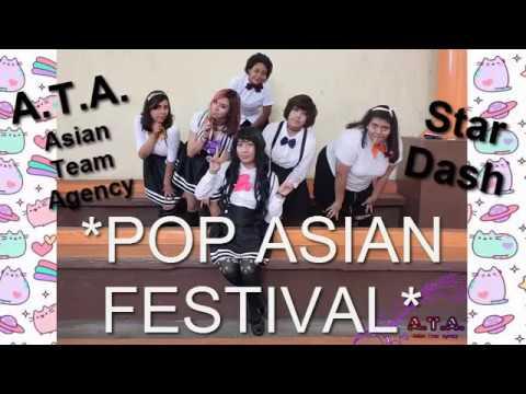 STAR DASH || Pop Asian Festival || Teatro al Aire Libre || White Romance