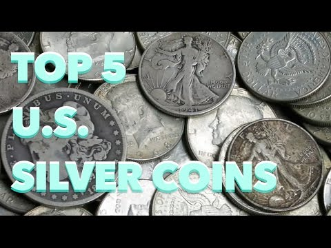 Top 5 U.S. Silver Coins to Invest in