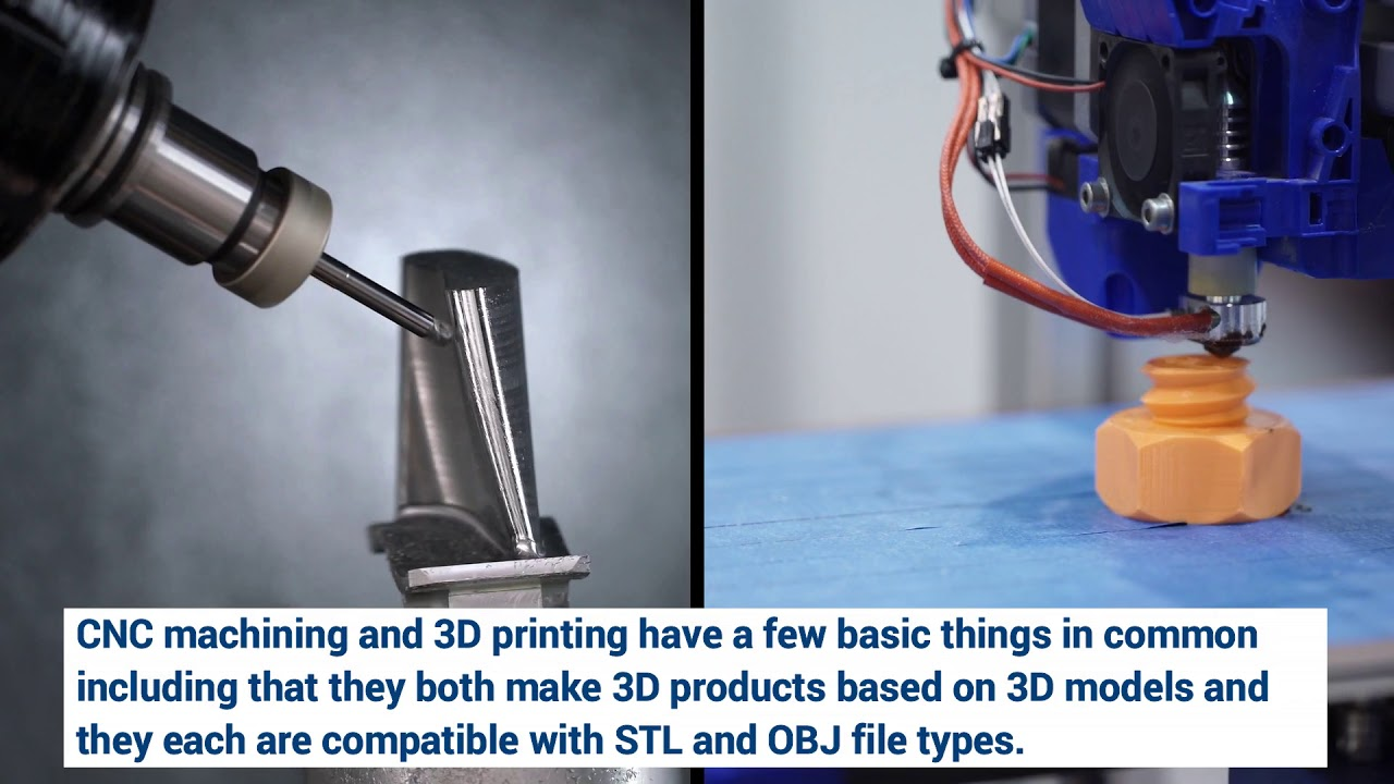CNC Machining vs 3D Printing: What is the Difference? | American