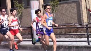 第73回びわ湖毎日マラソン大会 瀬田唐橋西詰(往路)