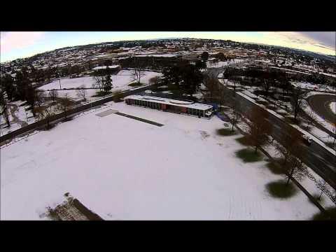 Bathurst NSW Morning Snow Flight by Sky Eye UAV Solutions