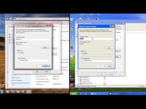 Cara Sharing File Dan Folder OS Windows 7 Dengan Windows XP