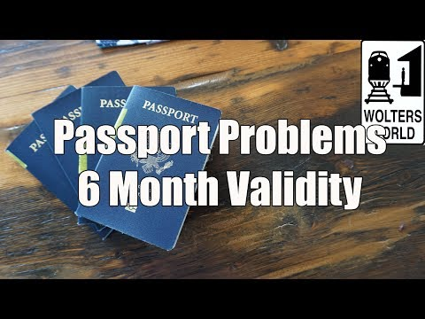 Passport Issues: Can I Travel with Only 6 Months Left on My Passport? NO!