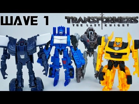 TRANSFORMERS THE LAST KNIGHT WAVE 1 LEGION CLASS TOYS BARRICADE BEE OPTIMUS GRIMLOCK PLUS SURPRSE!