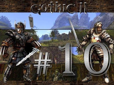 Прохождение Gothic 2 (Готика 2:Ночь Ворона) #10 - Логово Гильдии Воров Хориниса