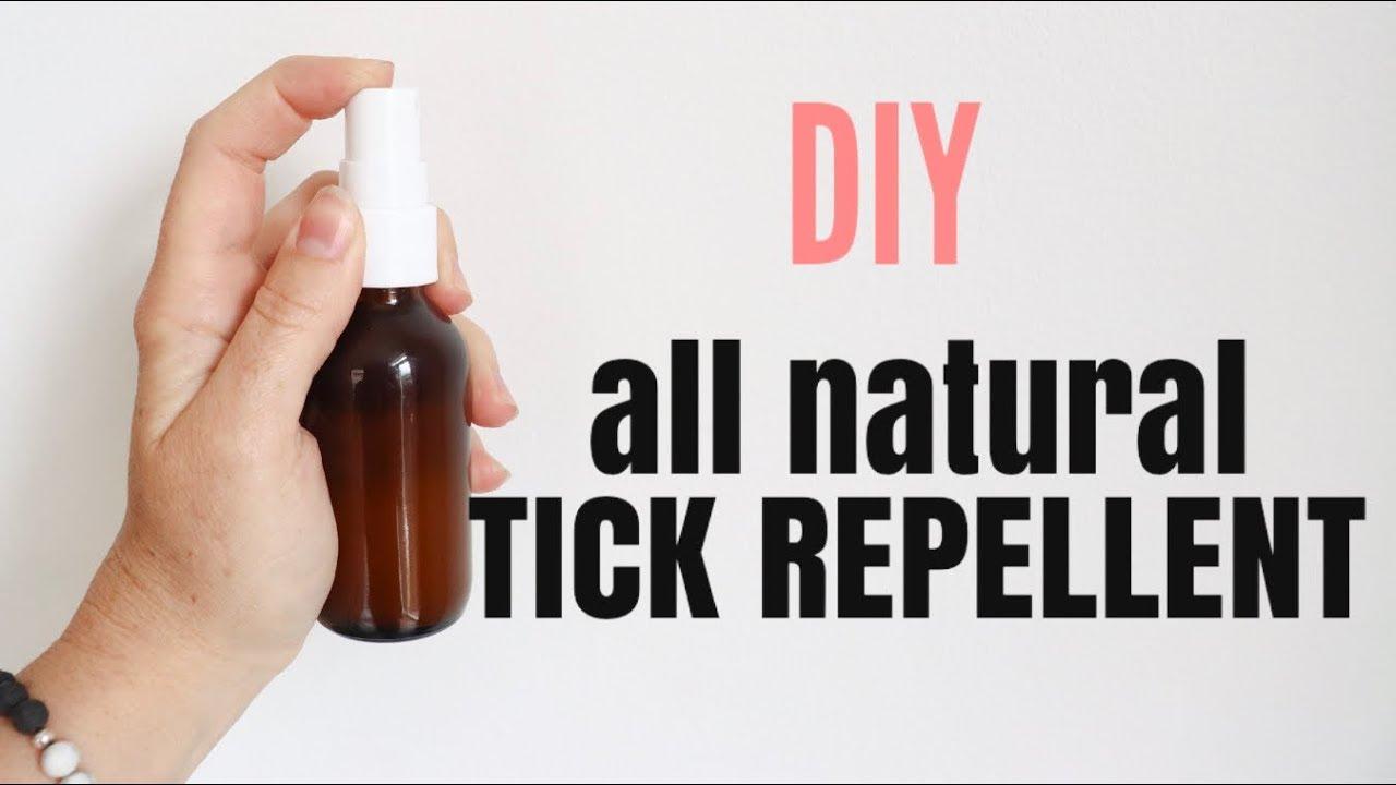 KID SAFE TICK REPELLENT, DIY, ALL NATURAL | tick spray |