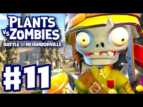 Foot Soldier! Weirding Woods! - Plants Vs. Zombies: Battle For Neighborville - Gameplay Part 11 (PC)