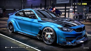 Need for Speed Heat - BMW M4 2018 (Varis) - Customize | Tuning Car (PC HD) [1080p60FPS]