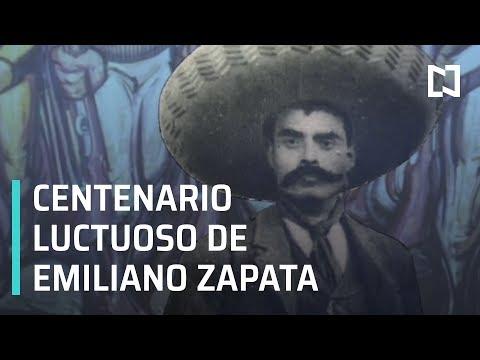 Conmemoran el aniversario luctuoso de Emiliano Zapata - Las Noticias