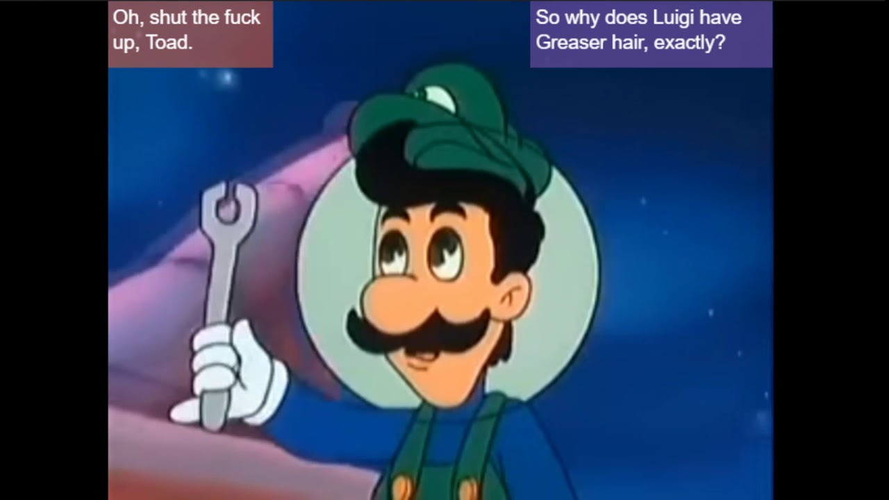The Super Mario Brothers Annotated Super Show Ep10 Stars In Their Eyes Archived