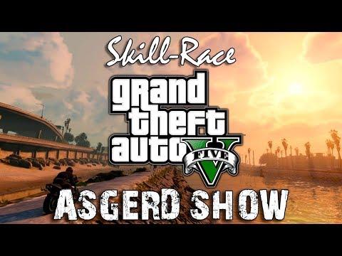 Grand Theft Auto V # 2 | Skill-Race | Скилл-гонка от ASGERD SHOW thumbnail