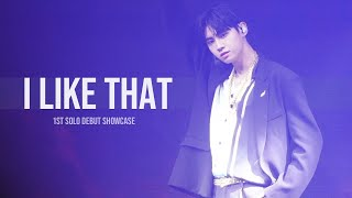 191104 1ST SOLO DEBUT SHOWCASE I Like That 이진혁