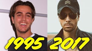 The Evolution of Enrique Iglesias (1995-2017)