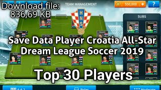 Download Save Data Player Netherlands All Star Dream League Soccer