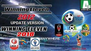 WE2012 update WE2018 add Liga1 Gojek indonesia 2018, Fifa World Cup 2018, Fix Transfer | GoblinTV