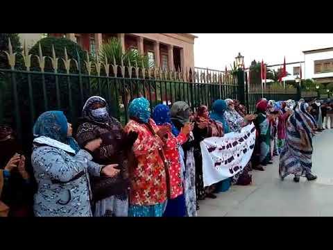 استمرار الوقفات الاحتجاجية للصحراويين بالرباط