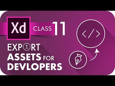How to Export Design Assets in Adobe XD 2020 | हिंदी #adobexd #xdtutorial #UIDesign