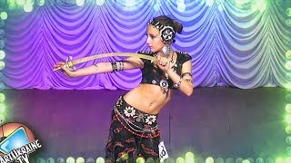 Tribal Fusion Belly Dance (with Saber) | Valeria Karnysh Finale Juvenals