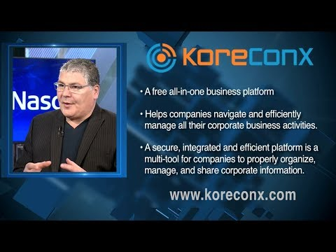 KoreConX | All-in-One Business Platform | CEO Oscar Jofre | Nasdaq