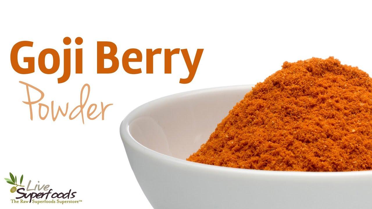 Live Superfoods Goji Berry Powder Organic 12 Oz Healthy Goods