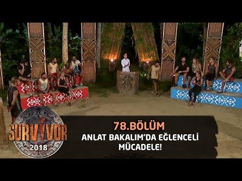 Anlat Bakalım'da eğlenceli mücadele...   78.Bölüm   Survior 2018