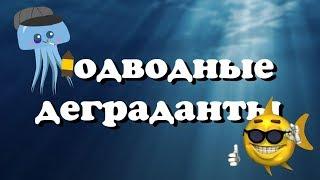 Подводные деграданты | RYTP