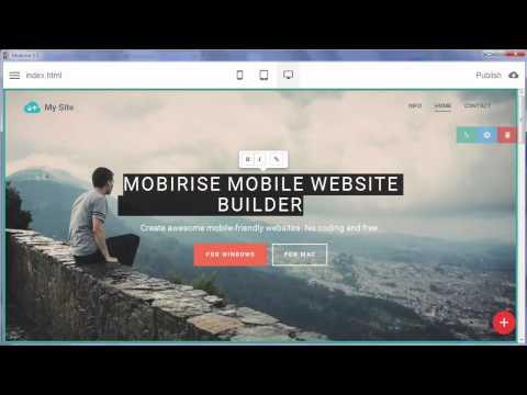 Free Website Builder Software v 1.5!