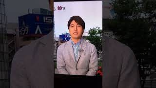 皮肉? 5月7日放送のzip.
