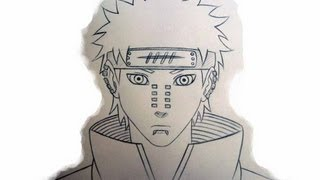 How To Draw Naruto Characters: Pain