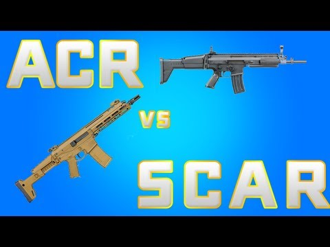 Scar l best gun in mw3